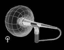 Micrófono cardioide shure